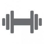 Dooleys Health and Fitness Dumbell Icon