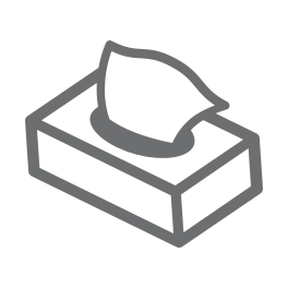Dooleys Health and Fitness Tissue Box Icon