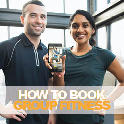 How to Book in for a Group Fitness Class