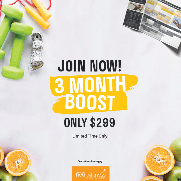 Join Now on a 3 Month BOOST