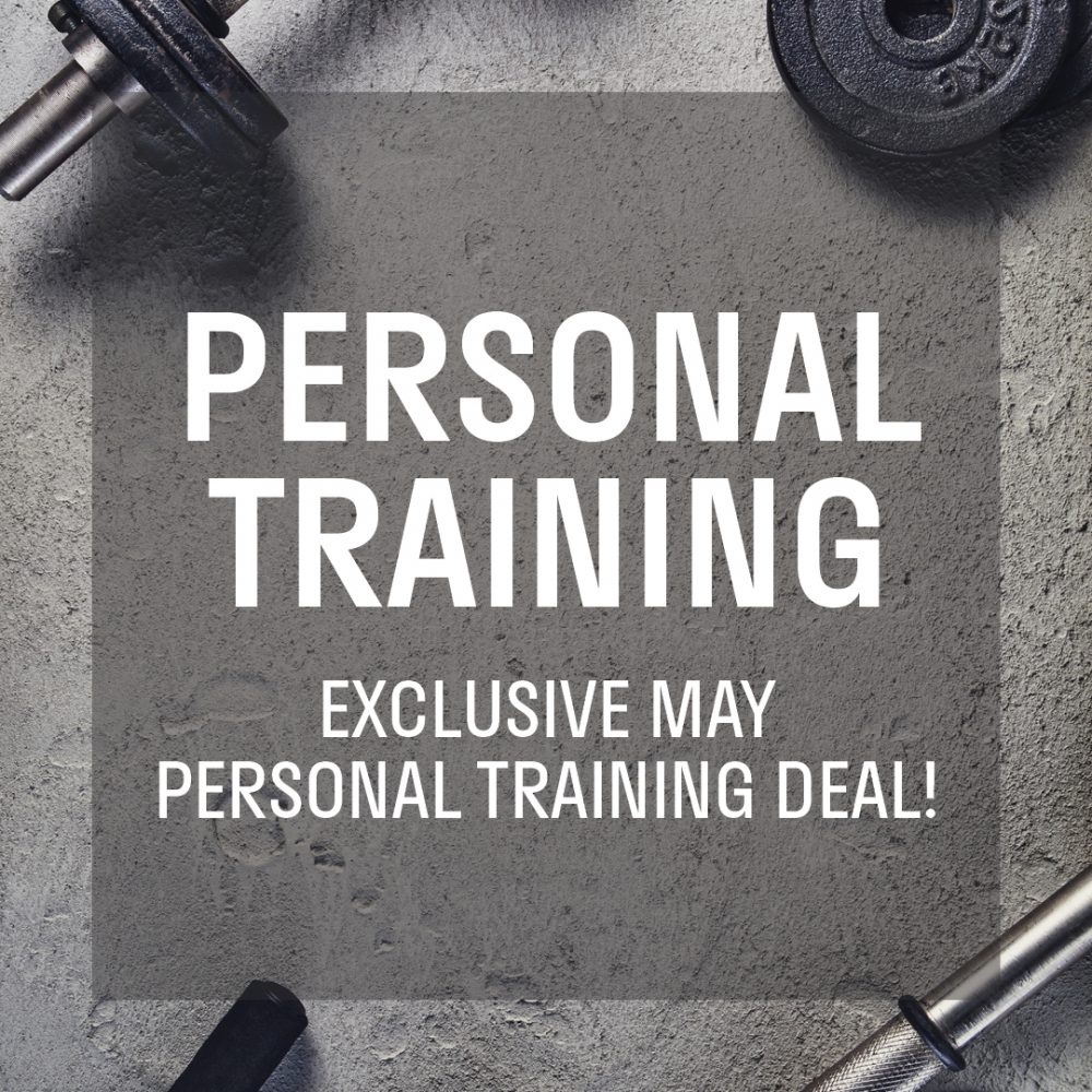 May Personal Training Deal